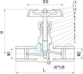 节流式针形截止阀|参数|结构|报价|新闻|上海首龙