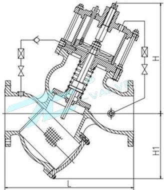 作为水位自动控制阀,是水池,水塔进水阀首选产品.